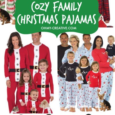 11 COZY FAMILY CHRISTMAS PAJAMAS FOR 2020!
