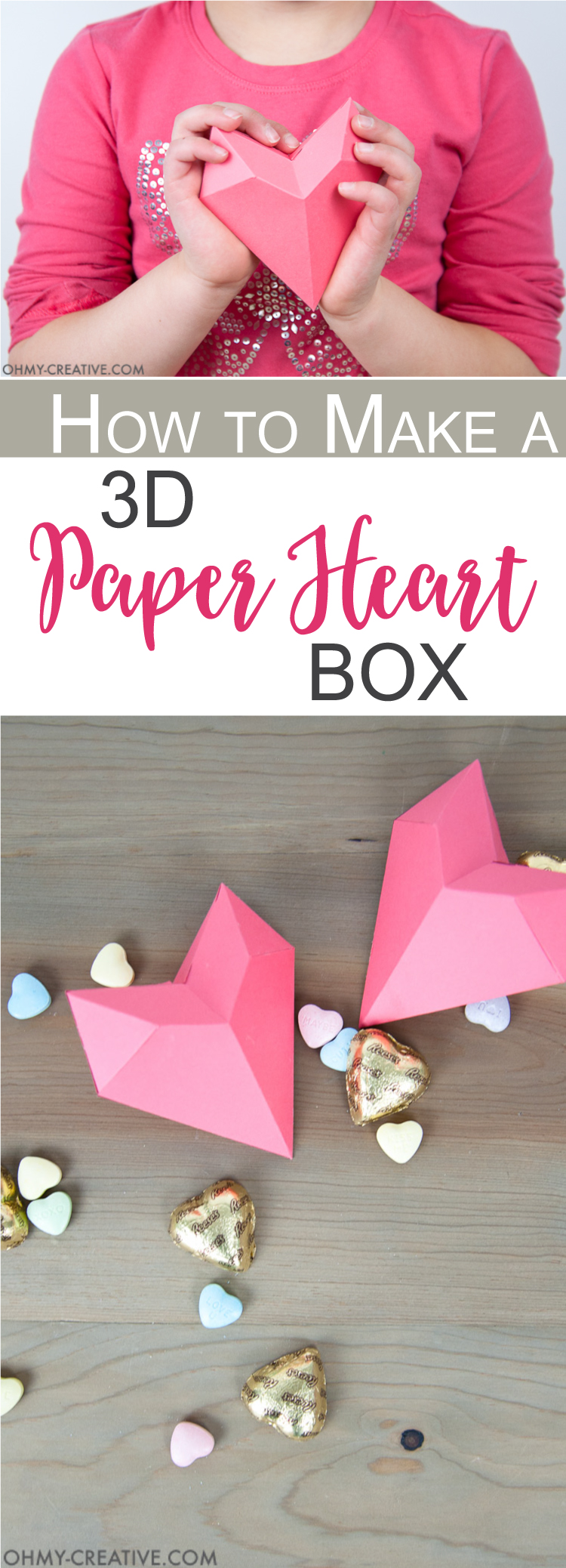 An Origami Heart Box -Perfect for Valentine's | 2076x750