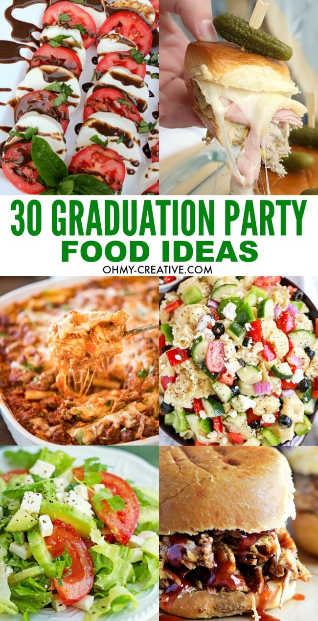 30 Plus Graduation Party Food Ideas. Find everything you need to host the ultimate graduation party!