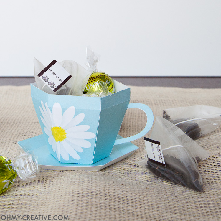 It's just a picture of Teacup Template Printable inside teacup cupcake wrapper