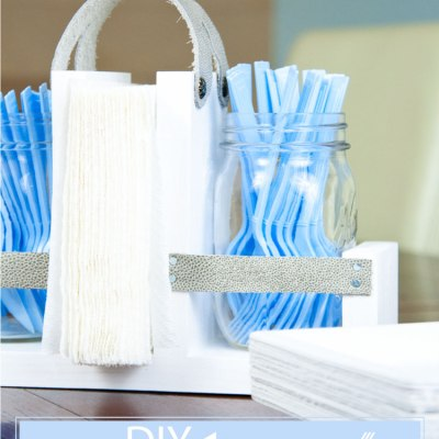 How To Make A DIY Silverware Holder