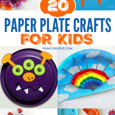 20 Paper Plate Crafts For Kids