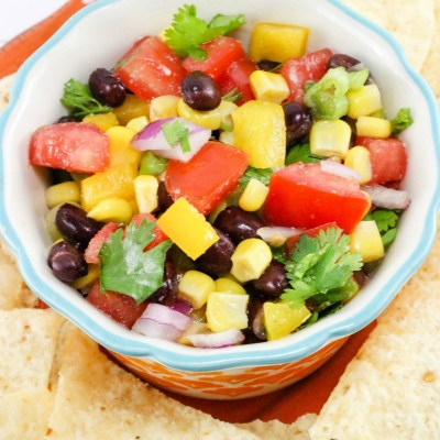 Fresh Salsa Recipe | Rainbow Salsa