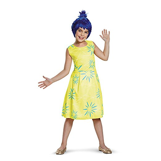 25 Disney Costume Ideas | OHMY-CREATIVE.COM | DIY Costumes | DIY Halloween | DIY Halloween Costumes | Amazon Costumes | Best DIY Halloween Costumes | Joy from Inside Out Costume |