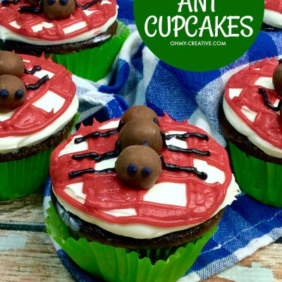 Ant Picnic Cupcakes For Summer