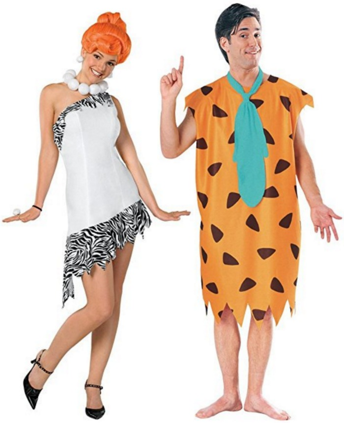 The Flintstones Wilma Costume | Fred Flintstone Costume | 50 Couples Halloween Costume Ideas