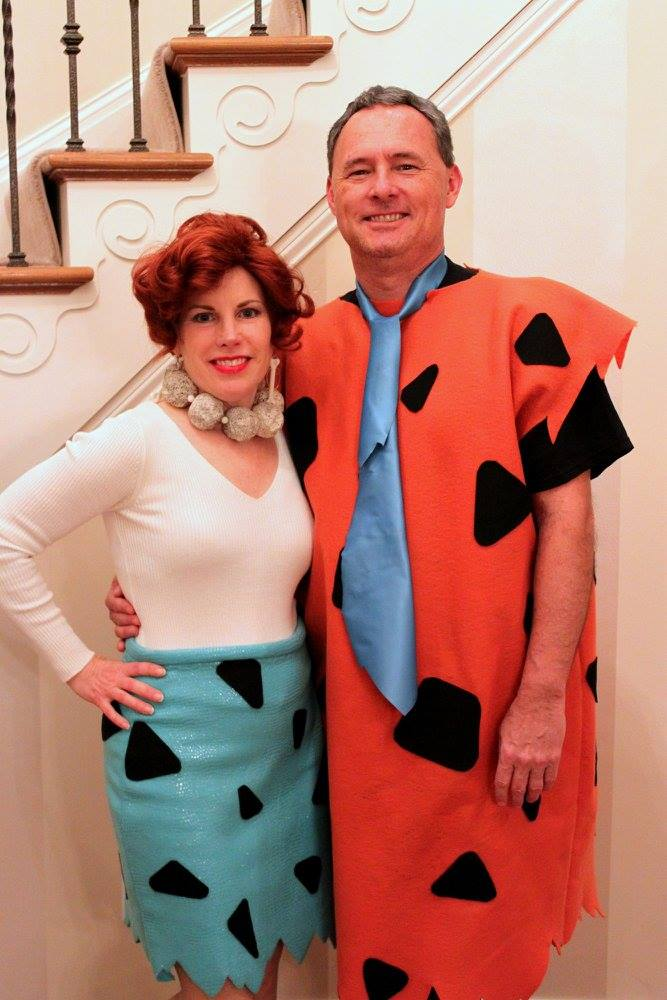 The Flintstones | Fred and Wilma Flintstone Halloween Costumes | 50 Couples Halloween Costume Ideas  sc 1 st  Oh My Creative & 50 Couples Halloween Costume Ideas - Oh My Creative