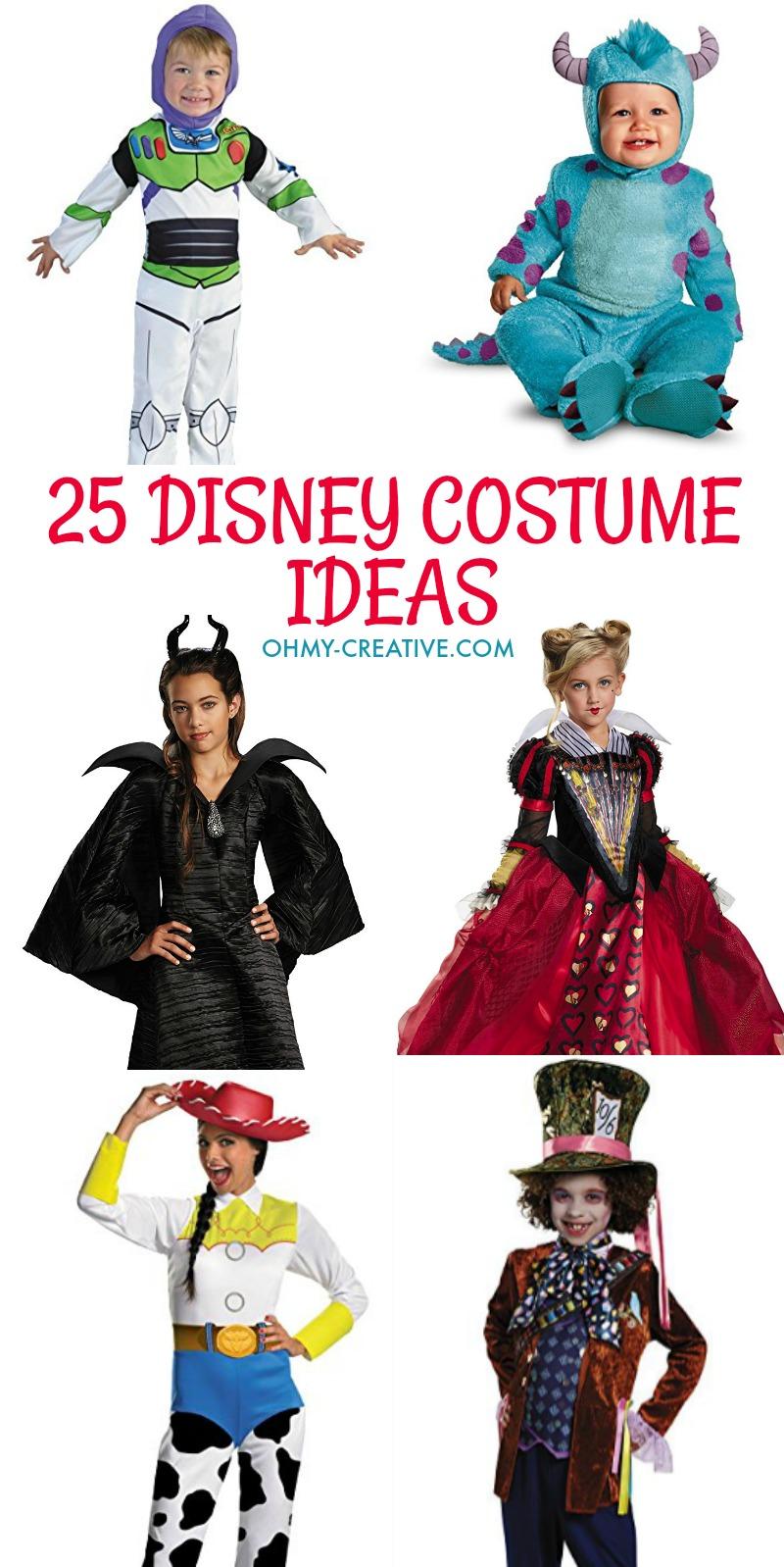 25 idées de costumes Disney ohmy creativecom Disney costumes d'Halloween Disney