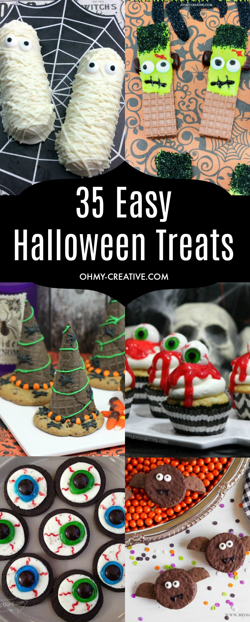35 Cute + Easy Halloween Treats You Can Make Today