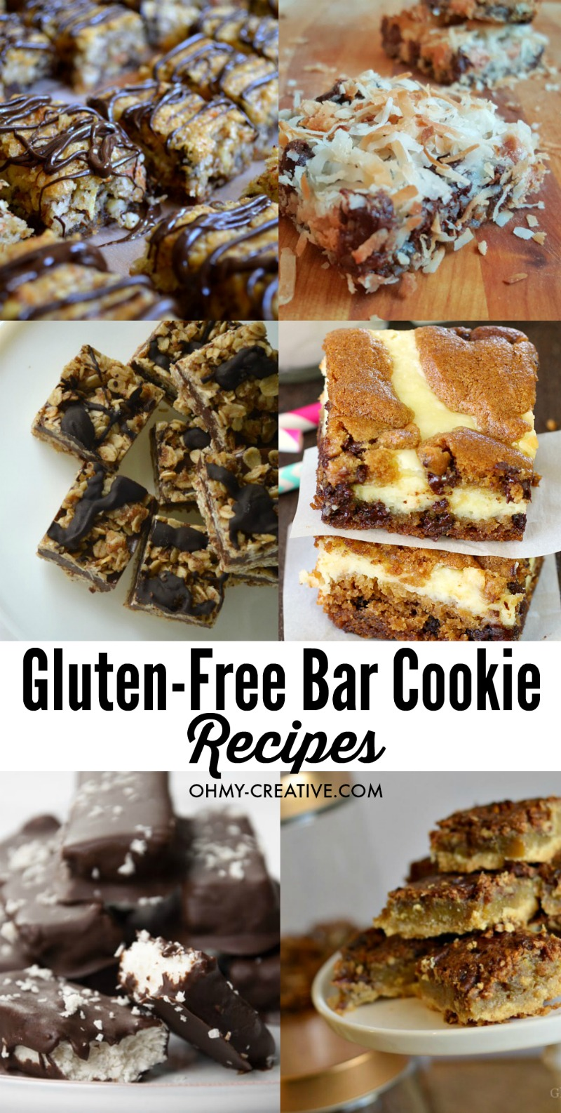 Gluten-Free Cookie Recipes | OHMY-CREATIVE.COM | Gluten Free Recipes | Easy Recipes | Gluten Free Desserts | Easy Desserts | Recipes | Gluten-Free Cookie Recipes