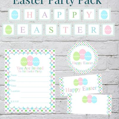 Free Easter Party Decorations Printables