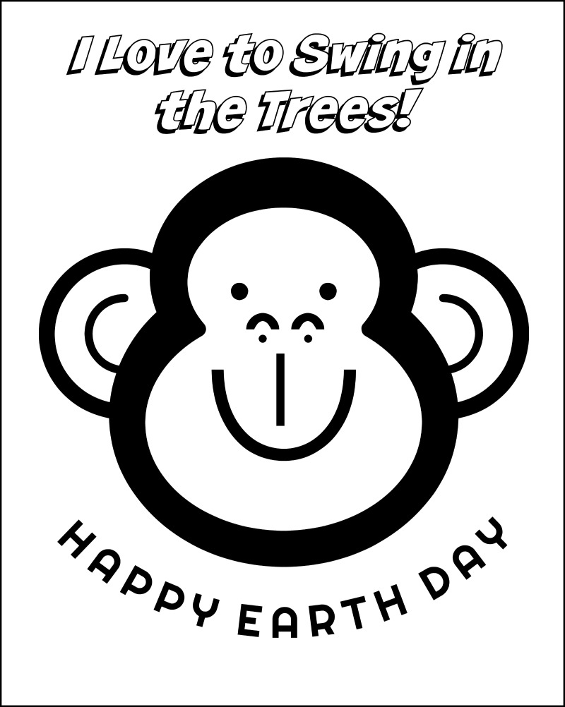 Earth Day Coloring Pages - Oh My Creative