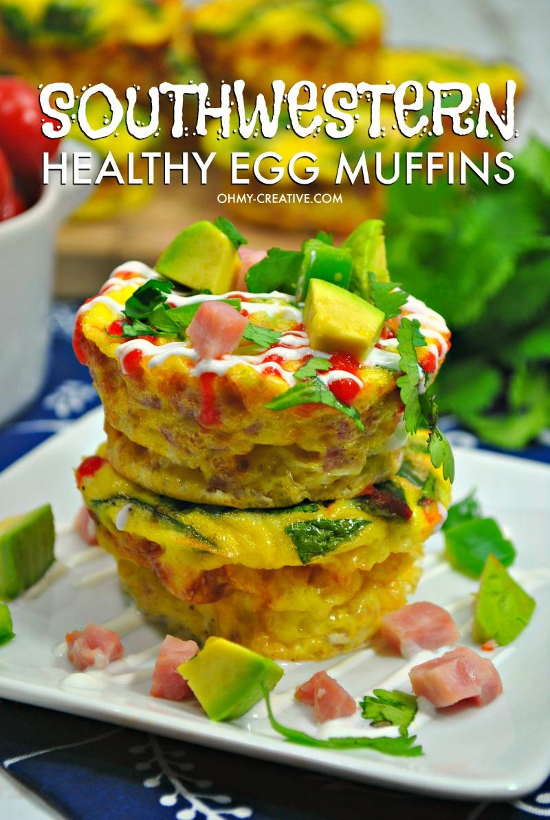 Southwestern Healthy Egg Muffins