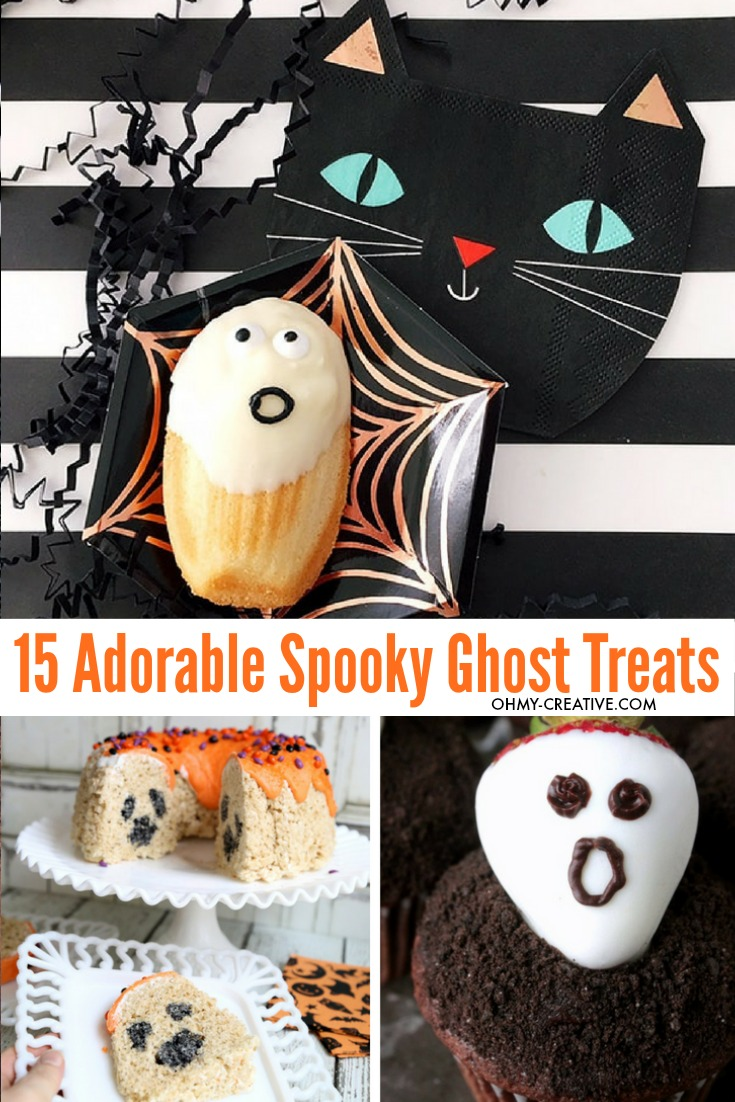 Rock Halloween with these 15+ Spooky Ghost Snacks and Ghost Treats! OHMY-CREATIVE.COM   Halloween Party Food Ideas   Halloween Food   Ghost Desserts   Halloween Desserts   Ghost Snacks Halloween   #ghostsnacks #halloweenghosts #halloweenpartyfood #halloweendessert #ghosttreats #ghosts #halloweenfood #halloween