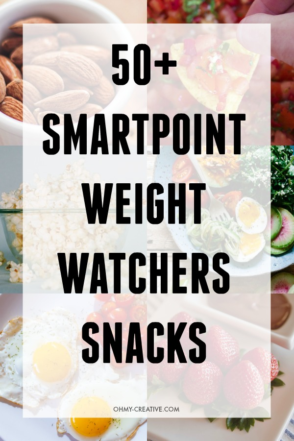 Weight Watchers tasty Low SmartPoint Snacks for when you're are feeling hungry. OHMY-CREATIVE.COM #weightwatchers #weightwatchersnacks #lowsmartpointsnacks #smartpointrecipes #lowcaloriesnacks