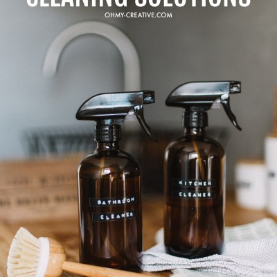 Easy Cleaning Solutions with Recipes Using Essential Oils