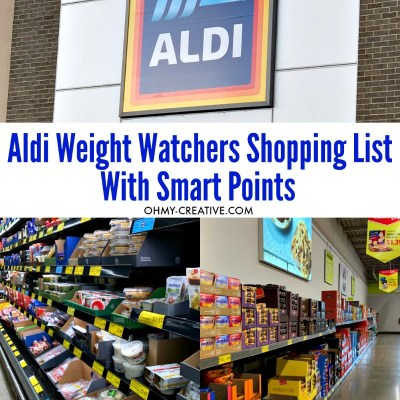 Weight Watchers Aldi's Shopping List: What To Buy