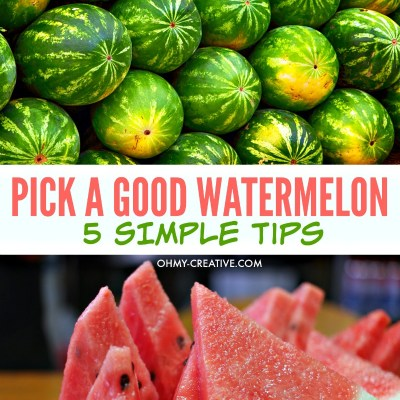 How To Pick A Good Watermelon With These 5 Tips