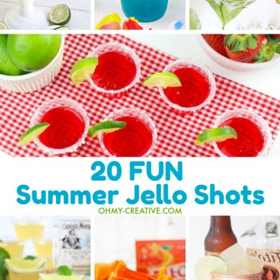 Fun Summer Jello Shots – 20 Different Kinds