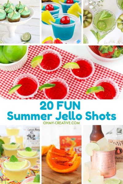 These amazing 20 summer jello shots will be a hit at any party.