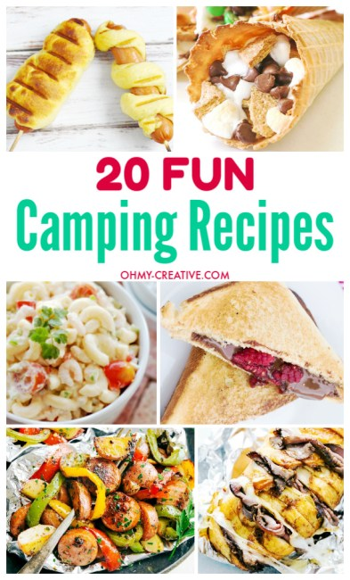 20 Camping food recipes