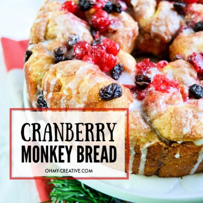 Pillsbury Cranberry Raisin Monkey Bread For The Holidays