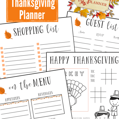 Free Printable Thanksgiving Planner – Stay Organized