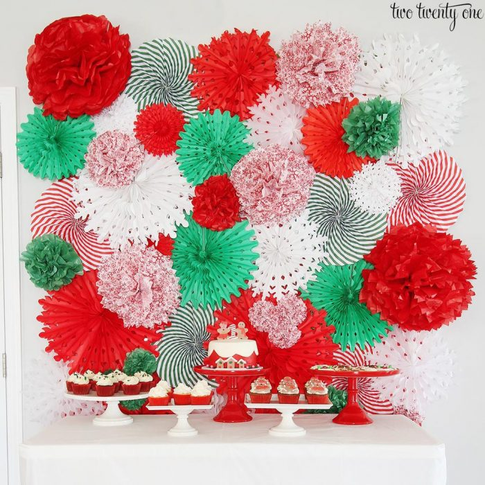 Every good party needs an attention-grabbing wall. You can place this behind the dessert table or use it as a backdrop for Instagram pictures.