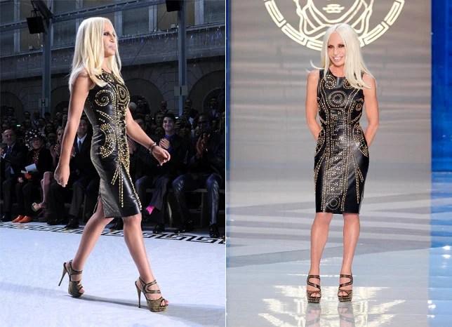 Parceria Donatella Versace H&M