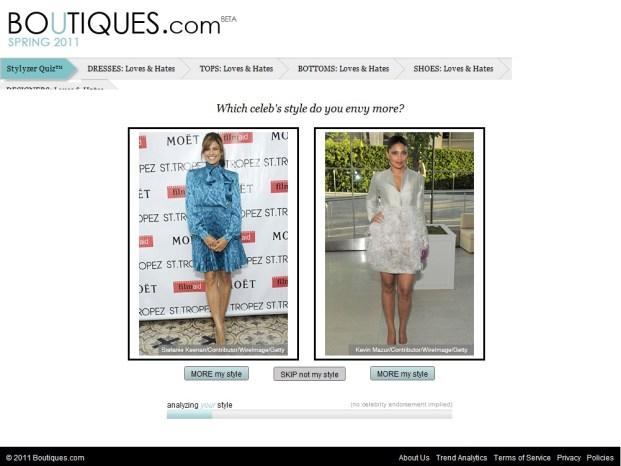 Determinando seu estilo boutiques.com