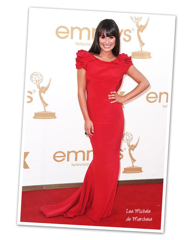 Vestido Lea Michele Emmy