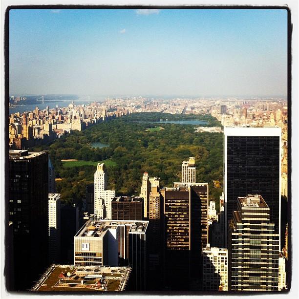 Vista Rockefeller Center Central Park NY moaraujo instagram blog de moda