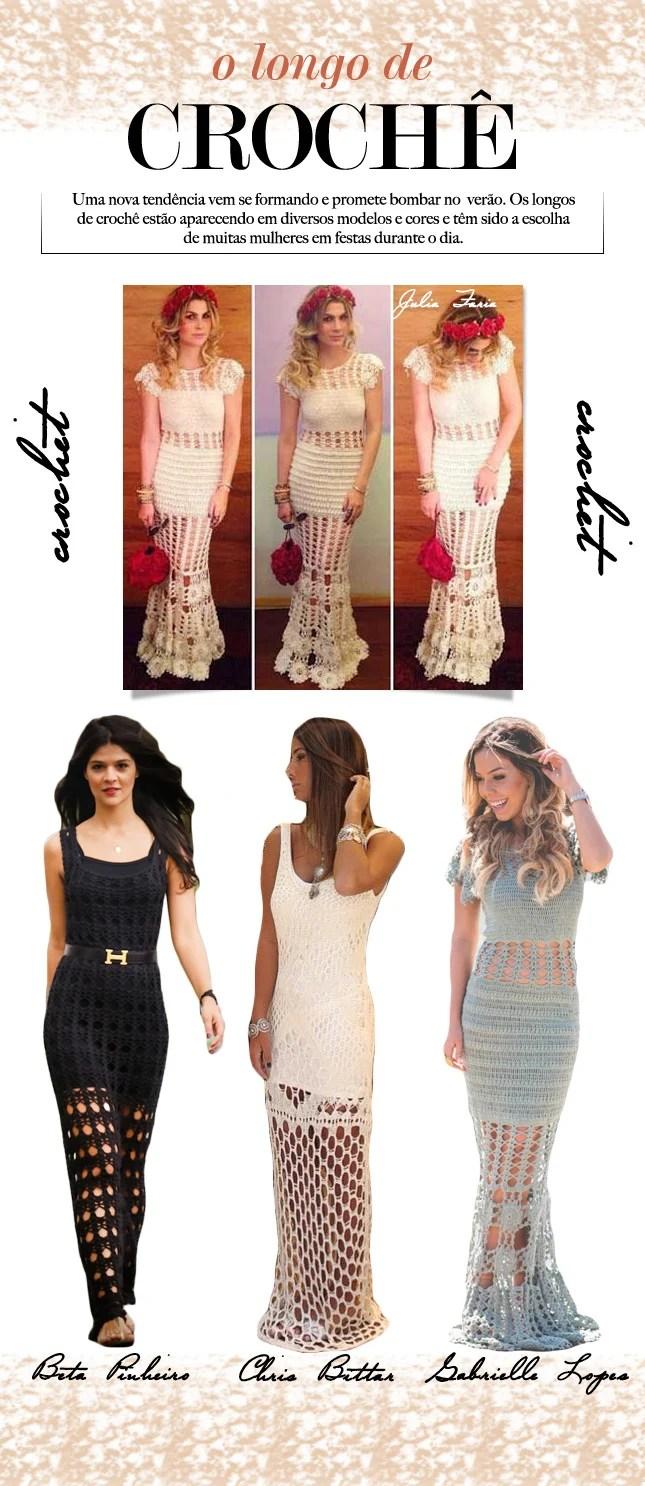 232db7a1f72b vestido longo de crochê blog de moda oh my closet hot verso 2015 vestido  crochet tendencia
