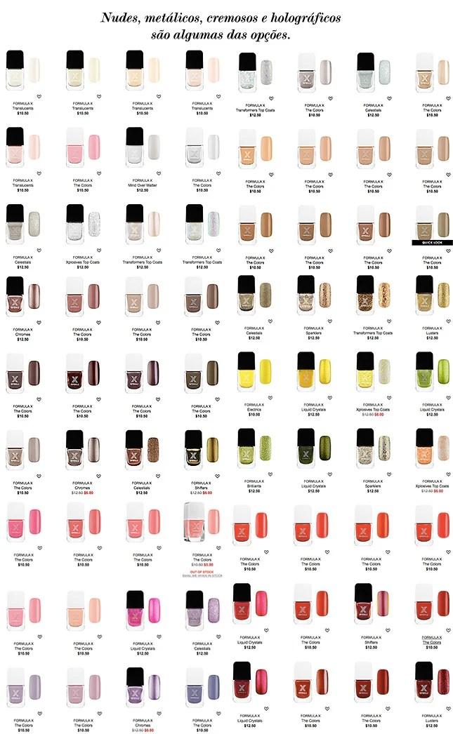 formula x esmalte sephora blog de moda oh my closet esmaltes brilho duracao novidades lancamentos