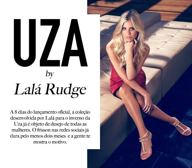 Estilo Lala Rudge: bota inverno e muito mais na coleção da blogueira para a Uza.