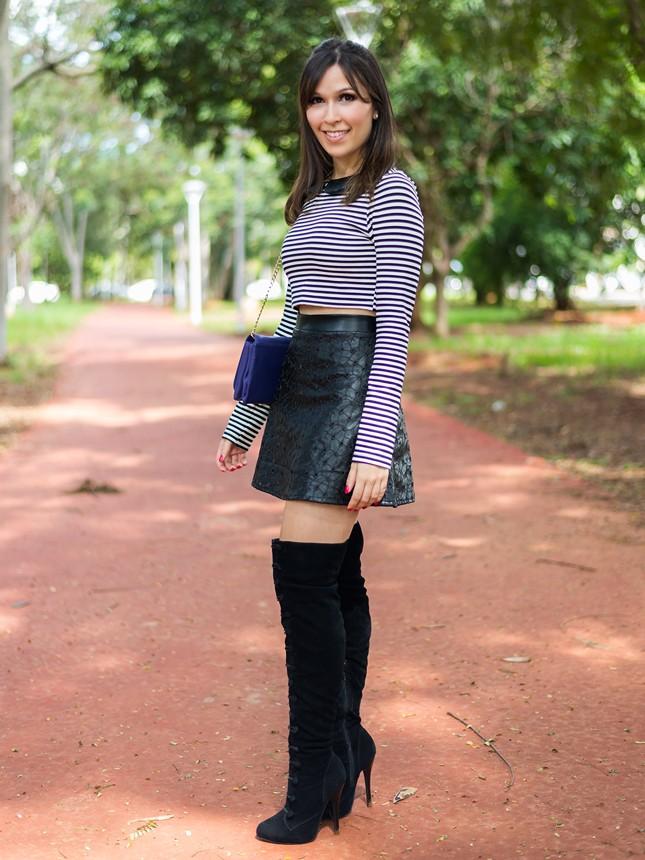 Quer um look P&B para se inspirar? Vem ver essa da Mônica Araújo do blog Oh My Closet!