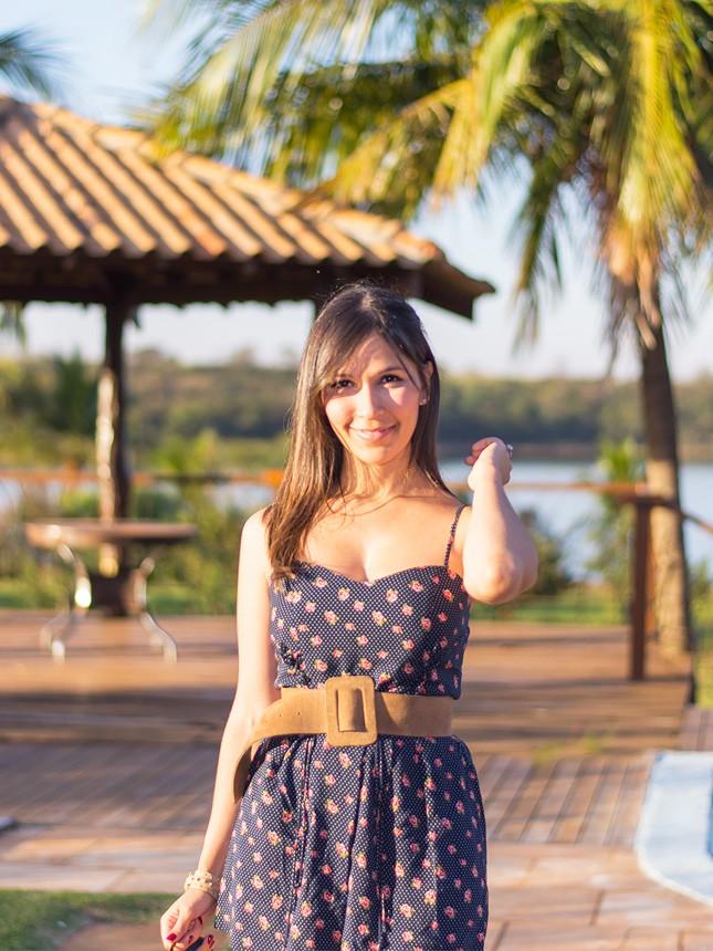 Look com macaquinho estampado: a blogger Mônica Araújo escolheu uma peça da Forever 21 para compor um look de verão, vem ver!