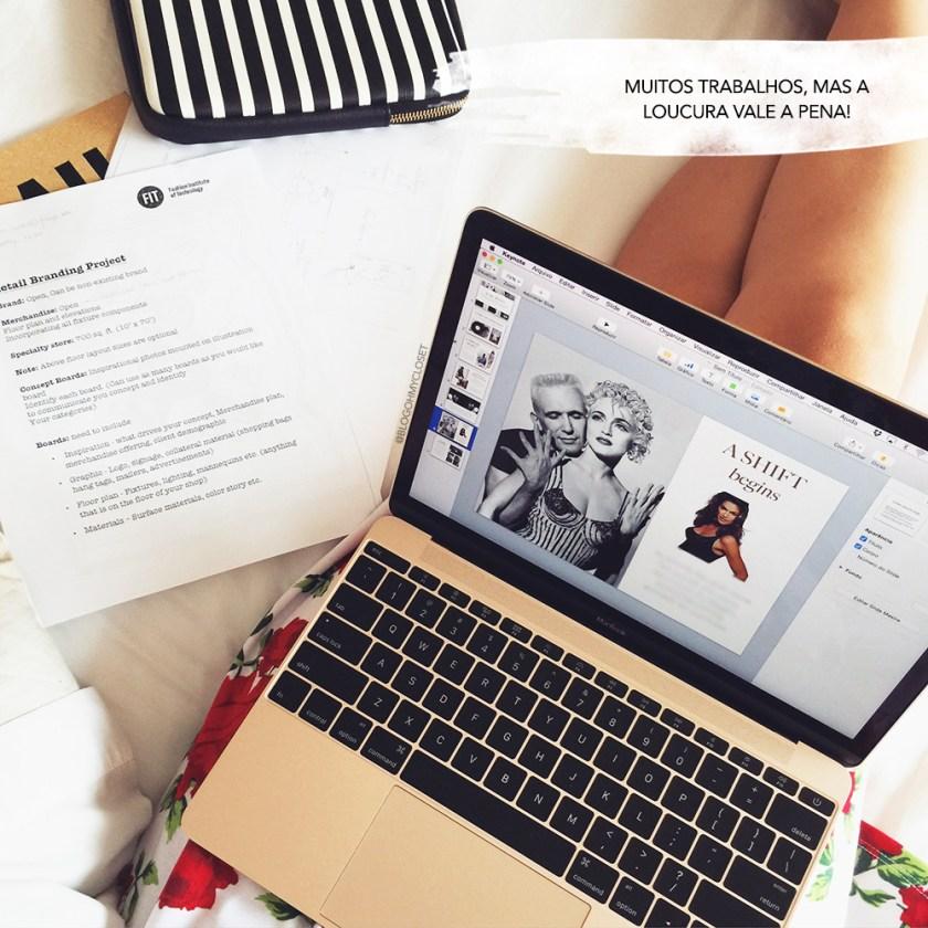 O curso no FIT é conluiado com um projeto final. Veja o que a blogger Mônica Araújo conta sobre o assunto no Oh My Closet!