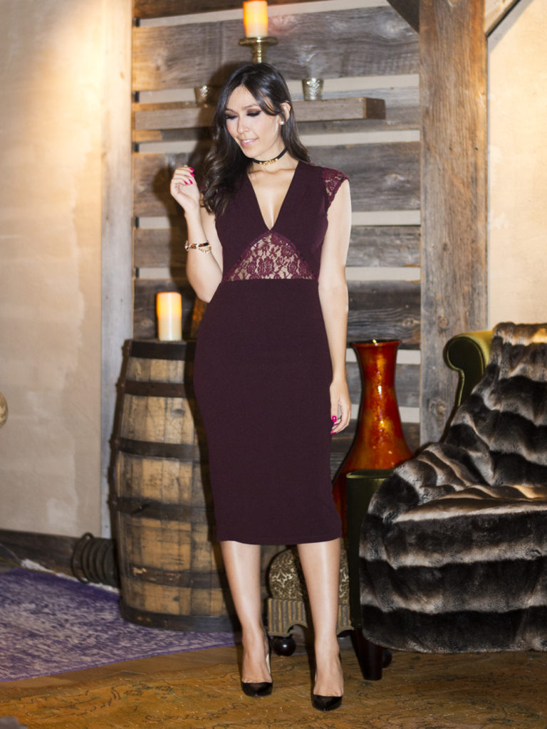 Monica Araujo usa vestido S Trend em Nova York. Vem ver esse look no OMC!