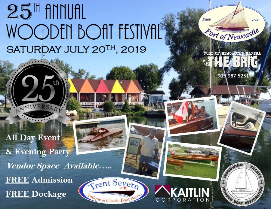25th Annual Wooden Boat Festival Oh My East