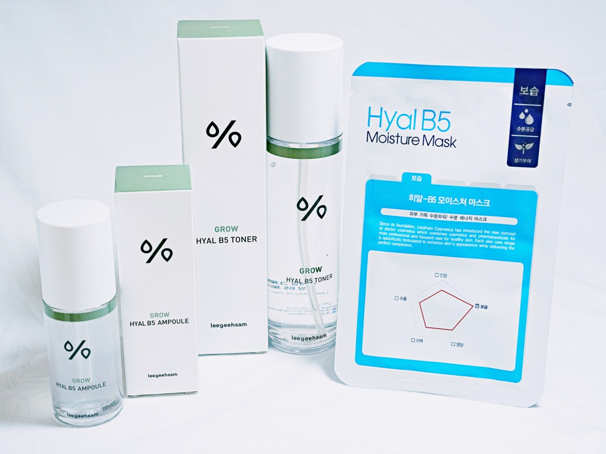 leegeehaam - Grow Hyal B5 Toner and Ampoule Review