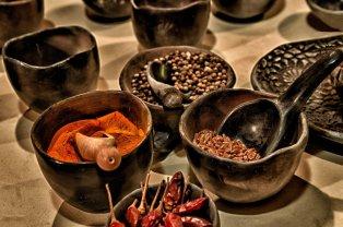 cinnamon spices peppers paprika seasonings