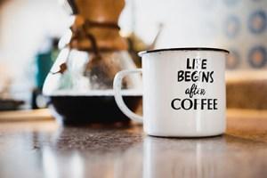 Coffee Pour Over - Mug