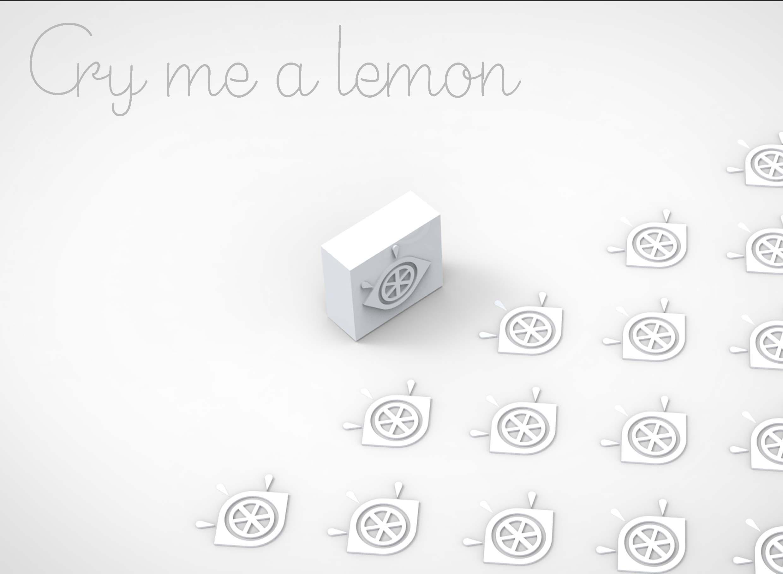 Cry Me a Lemon: Stamp