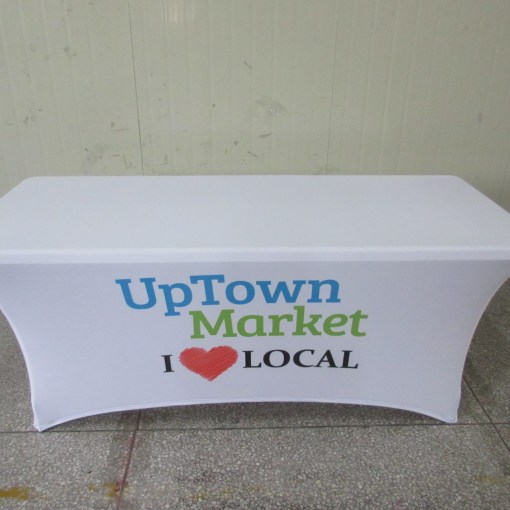 Ontario Printed tablecloths stretch lycra