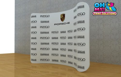 Curved Media Wall