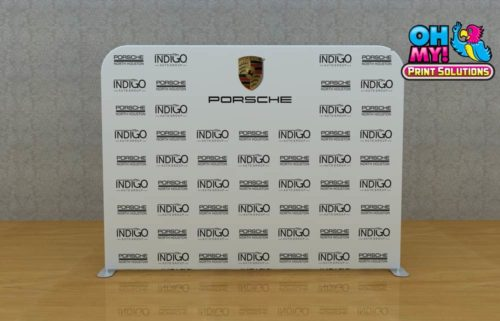 Fabric Logo Wall