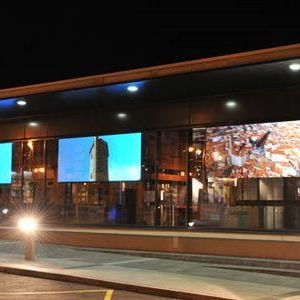 Rear Projection Film on Windows