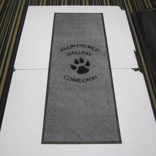 Custom-printed-mat-with-logo-Saskatchewan