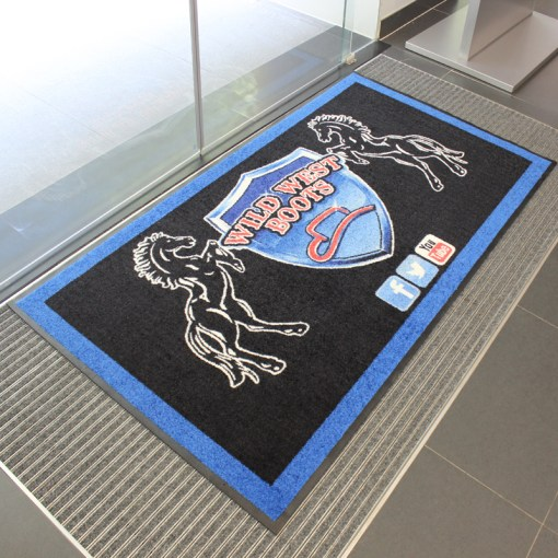 Printed Door Mats Available Canada, USA and worldwide